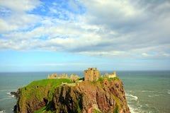 το κάστρο dunnottar Σκωτία Στοκ Φωτογραφίες