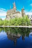 Το κάστρο Hogwarts στον κόσμο Wizarding Στοκ Εικόνα
