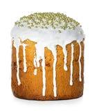 το κέικ Πάσχα απομόνωσε το Στοκ εικόνα με δικαίωμα ελεύθερης χρήσης