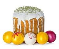 το κέικ Πάσχα απομόνωσε το Στοκ φωτογραφία με δικαίωμα ελεύθερης χρήσης