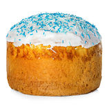 το κέικ Πάσχα απομόνωσε το Στοκ Φωτογραφία