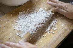 το κέικ προετοιμάζει το &rho Στοκ Εικόνες