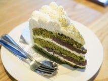 Το κέικ τσαγιού στοκ φωτογραφίες