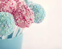 Το κέικ χρώματος κρητιδογραφιών σκάει Στοκ φωτογραφία με δικαίωμα ελεύθερης χρήσης