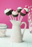 το κέικ cupcake σκάει Στοκ εικόνες με δικαίωμα ελεύθερης χρήσης