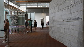 Το κέντρο κουδουνιών ελευθερίας στη Φιλαδέλφεια Στοκ φωτογραφία με δικαίωμα ελεύθερης χρήσης
