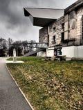 Το κέντρο τεκμηρίωσης ενσωματώνει το προηγούμενο ναζιστικό κτήριο συνεδρίων κόμματος στοκ φωτογραφία με δικαίωμα ελεύθερης χρήσης
