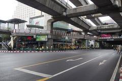 Το κέντρο της Μπανγκόκ, Ταϊλάνδη Στοκ Εικόνες