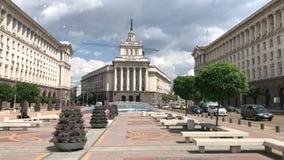Το κέντρο της πόλης της Sofia, Βουλγαρία φιλμ μικρού μήκους