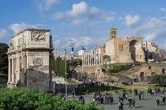 Το κέντρο της Ρώμης Στοκ φωτογραφία με δικαίωμα ελεύθερης χρήσης