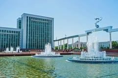 Το κέντρο της Τασκένδης Στοκ Φωτογραφίες