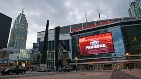 Το κέντρο του Air Canada στο στο κέντρο της πόλης Τορόντο είναι κατ' οίκον Toronto Raptors και τον Ιούλιο του 2016 των Maple Leaf Στοκ φωτογραφία με δικαίωμα ελεύθερης χρήσης