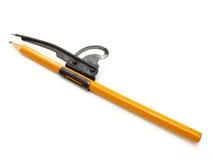 Το κίτρινο επίγειο μολύβι Στοκ εικόνες με δικαίωμα ελεύθερης χρήσης