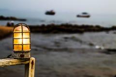 Το κίτρινο φως Στοκ φωτογραφία με δικαίωμα ελεύθερης χρήσης