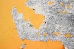 Χρώμα που πέφτει από τον τοίχο Στοκ φωτογραφία με δικαίωμα ελεύθερης χρήσης