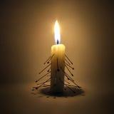 το καίγοντας κερί οι βε&lamb Στοκ φωτογραφία με δικαίωμα ελεύθερης χρήσης
