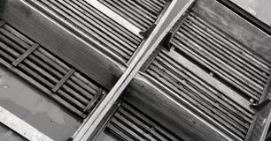 Το Καίμπριτζ κλοτσά παρμένος άνωθεν, μονοχρωματικός στοκ φωτογραφίες με δικαίωμα ελεύθερης χρήσης