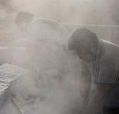 Το καθεστώς μερικοί από τους εργαζομένους πετρών Στοκ Φωτογραφίες