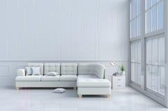 Το καθιστικό χαλαρώνει μέσα την ημέρα Στοκ εικόνα με δικαίωμα ελεύθερης χρήσης
