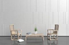 Το καθιστικό χαλαρώνει μέσα την ημέρα Στοκ φωτογραφία με δικαίωμα ελεύθερης χρήσης