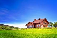 Το καινούργιο σπίτι μου Στοκ Εικόνες