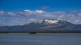Το κακόφημο ηφαίστειο Hekla, νότια Ισλανδία στοκ εικόνες με δικαίωμα ελεύθερης χρήσης