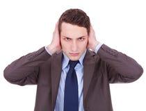 το κακό ακούει το αριθ. Στοκ φωτογραφία με δικαίωμα ελεύθερης χρήσης