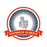 το κακό ψεύτικο χέρι χειρονομίας σημαίνει το αριθ απεικόνιση αποθεμάτων
