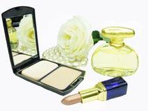 το καλλυντικό makeup έθεσε Στοκ Εικόνες