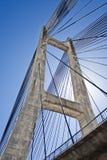 το καλώδιο de luna γεφυρών barrios έμ&epsilo Στοκ Φωτογραφία