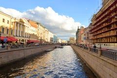 Το κανάλι Griboyedov Στοκ φωτογραφίες με δικαίωμα ελεύθερης χρήσης