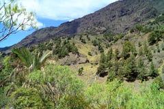 Το Κανάριο νησί του Λα Palma είναι πραγματικά ένα μεγάλο ηφαίστειο Στοκ φωτογραφία με δικαίωμα ελεύθερης χρήσης