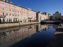 Το κανάλι Grande Στοκ εικόνα με δικαίωμα ελεύθερης χρήσης