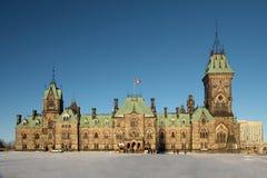 το καναδικό Κοινοβούλιο σπιτιών Στοκ Εικόνες