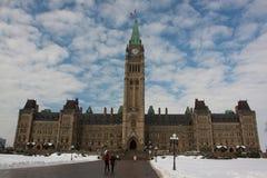 το καναδικό Κοινοβούλιο Στοκ Εικόνες
