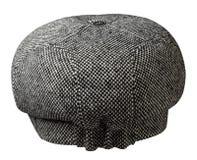 το καπέλο μόδας ανασκόπησ& χρωματισμένο καπέλο Στοκ φωτογραφία με δικαίωμα ελεύθερης χρήσης