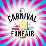 Το καρναβάλι funfair Στοκ Εικόνα