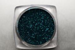Το καρφί κιρκιριών makeup ακτινοβολεί Στοκ Φωτογραφίες