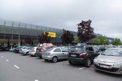 Το κατάστημα ακρόπολη σε KLAIPEDA Στοκ Εικόνες