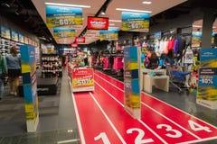 Το κατάστημα ακρόπολη σε KLAIPEDA Στοκ Φωτογραφίες
