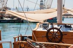 Το κατάστρωμα του πλοίου Στοκ Εικόνες