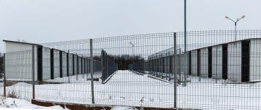 Το καταφύγιο των σκυλιών Στοκ Εικόνα