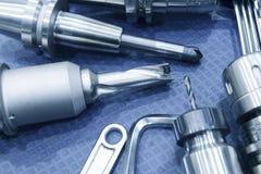 Το καταχωρήσιμο εργαλείο για CNC τη μηχανή άλεσης Στοκ φωτογραφία με δικαίωμα ελεύθερης χρήσης