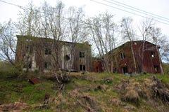 Το κατεδαφισμένο σπίτι Στοκ Φωτογραφίες