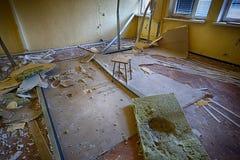 Το κατεστραμμένο δωμάτιο Στοκ φωτογραφίες με δικαίωμα ελεύθερης χρήσης
