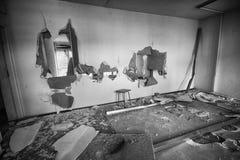 Το κατεστραμμένο δωμάτιο Στοκ Εικόνα