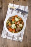 Το κατ' οίκον γίνοντα παραδοσιακό ιρλανδικό αρνί μαγειρεύει σε κατσαρόλα Στοκ φωτογραφίες με δικαίωμα ελεύθερης χρήσης