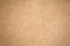 Το καφετί έγγραφο είναι κενό, αφηρημένο υπόβαθρο χαρτονιού Στοκ φωτογραφίες με δικαίωμα ελεύθερης χρήσης