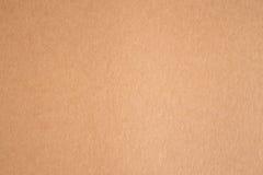 Το καφετί έγγραφο είναι κενό, αφηρημένο υπόβαθρο χαρτονιού Στοκ Εικόνες
