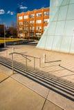 Το καφετί κέντρο στο κολλέγιο ιδρύματος της Μέρυλαντ της τέχνης Bal Στοκ Φωτογραφία